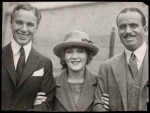 "Hollywood royalty, 1918: Chaplin, Pickford, Fairbanks (by the way, all of these people were short, beginning a long Hollywood tradition of ""I thought he would be taller"")."